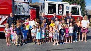 Fire Company donation
