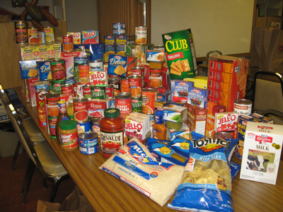 Food Bank Contribution